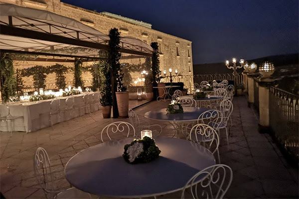 Exclusive events: roof garden, excellent food and attention to the details - Palazzo Gattini