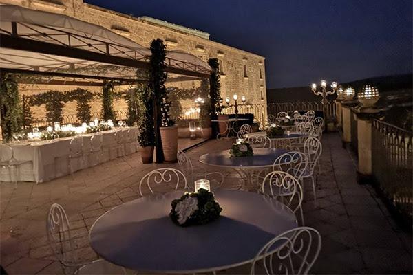 Eventi esclusivi: roof garden, ottimo cibo e cura dei dettagli - Palazzo Gattini